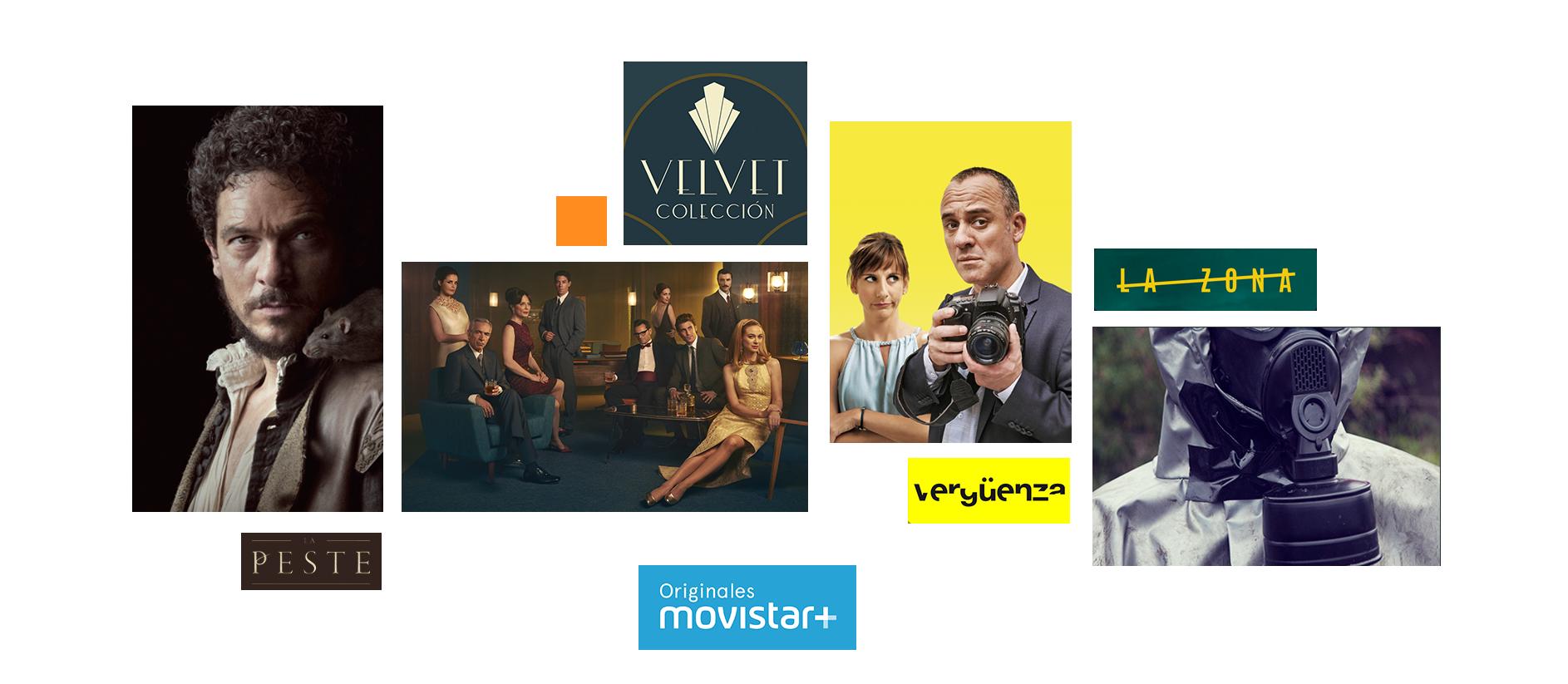 Originales Movistar+ presenta sus series La Peste, Velvet Colección, Vergüenza y La Zona