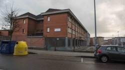 Colegio Barrio El Espinar, zona habitada